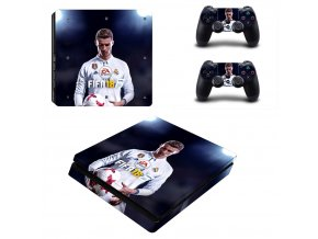 PS4 Slim Polep Skin FIFA 18