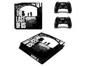 PS4 Slim Polep Skin The Last of Us