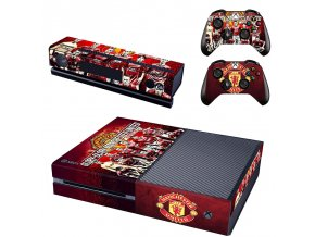 Xbox One Polep Skin Manchester United FC