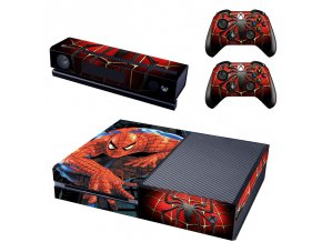 Xbox One Polep Skin Spiderman