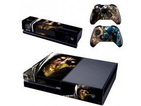 Xbox One Polep Skin Mortal Kombat