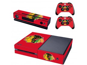 Xbox One Polep Skin NHL - Chicago Blackhawks