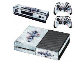Xbox One Polep Skin NHL - Washington Capitals