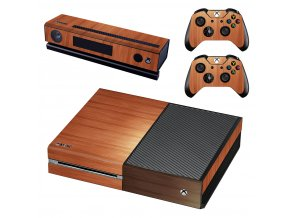 Xbox One Polep Skin Wood