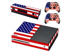Xbox One Polep Skin USA