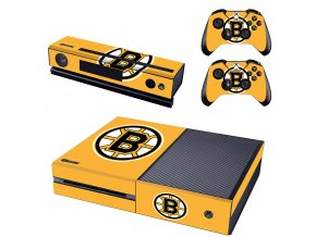 Xbox One Polep Skin NHL - Boston Bruins