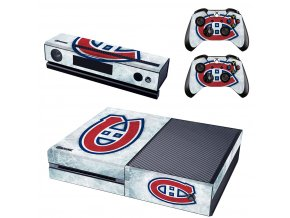 Xbox One Polep Skin NHL - Montreal Canadiens