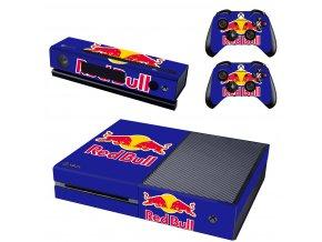 Xbox One Polep Skin Red Bull