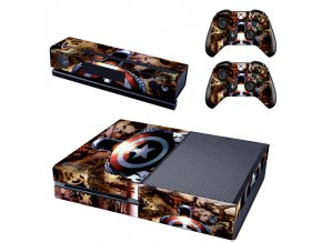 Xbox One Polep Skin Captain America