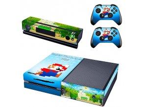 Xbox One Polep Skin Super Mario