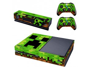 Xbox One Polep Skin Minecraft