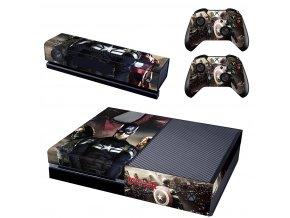 Xbox One Polep Skin Captain America Civil War