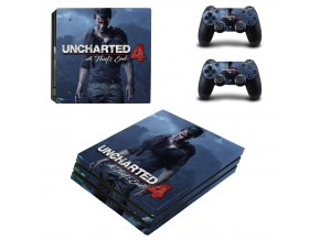PS4 Pro Polep Skin Uncharted