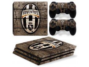 PS4 Pro Polep Skin Juventus FC