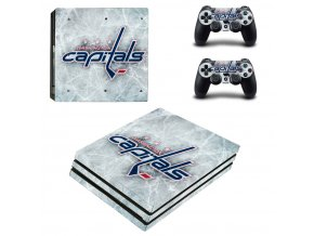 PS4 Pro Polep Skin NHL - Washington Capitals