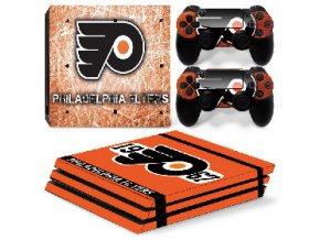 PS4 Pro Polep Skin NHL - Philadelphia Flyers