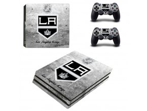 PS4 Pro Polep Skin NHL - Los Angeles Kings