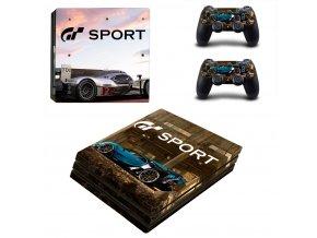 PS4 Pro Polep Skin Gran Turismo Sport