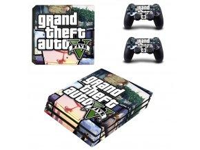PS4 Pro Polep Skin GTA 5