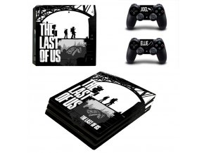 PS4 Pro Polep Skin The Last of Us