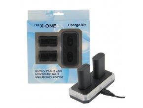 Dobíjecí baterie k ovladači Xbox One s nabíjecí stanicí