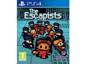 The Escapists PS4 Front Pegi R49X14KCKLZP