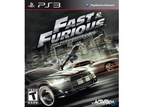 PS3 Fast & Furious: Showdown