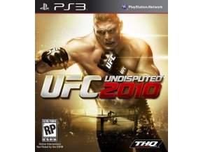 PS3 UFC Undisputed 2010