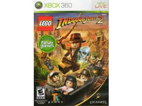 Xbox 360 LEGO Indiana Jones 2: The Adventure Continues
