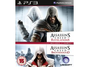 PS3 Assassin's Creed: Brotherhood & Revelations