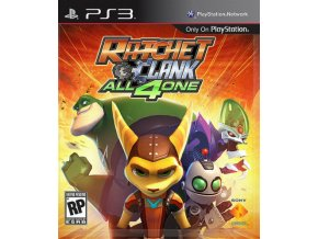 PS3 Ratchet and Clank: All 4 One