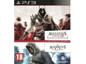 PS3 Assassin's Creed 1 + 2