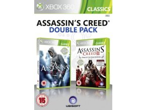 Xbox 360 Assassins Creed 1 + 2