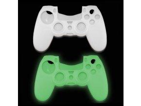 Svítící silikonový obal na ovladač PS4