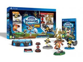 PS4 Skylanders: Imaginators Starter Pack - Crash Bandicoot Edition