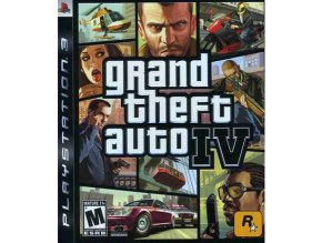 PS3 Grand Theft Auto IV / GTA 4