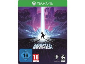 Xbox One Agents of Mayhem (Steelbook Edition)