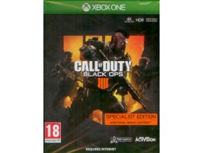 Xbox One Call of Duty: Black Ops 4 (Specialist Edition)