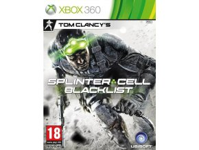Xbox 360 Tom Clancy's Splinter Cell: Blacklist