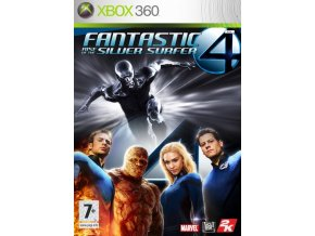 Xbox 360 Fantastic 4: Rise of the Silver Surfer