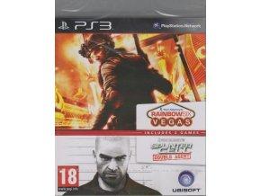 PS3 Tom Clancy's Splinter Cell: Double Agent & Rainbow 6 Vegas
