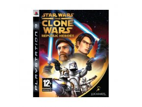 PS3 Star Wars: The Clone Wars: Republic Heroes