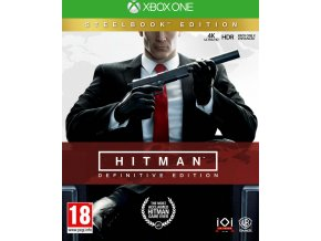 Xbox One Hitman Definitive Steelbook Edition