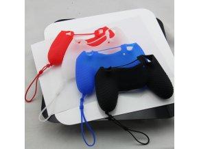 Silikonový obal na ovladač s poutkem (PS4)