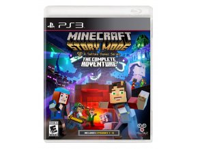 PS3 Minecraft: Story Mode The Complete Adventure