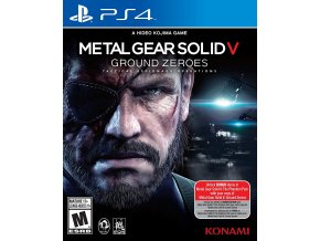 PS4 Metal Gear Solid V: Ground Zeroes
