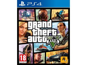 PS4 Grand Theft Auto V GTA 5