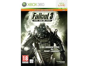 Xbox 360 Fallout 3 Broken Steel and Point Lookout