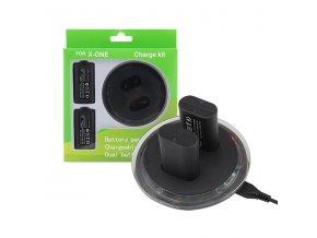 Dobíjecí baterie k ovladači Xbox One + nabíjecí stanice