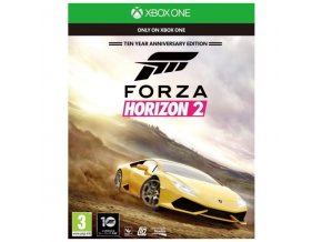 Xbox One Forza Horizon 2 - Ten Year Anniversary Edition